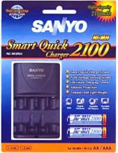 Sanyo NC-MQR02 Caricabatterie rapido per Pile Batterie AAAAA