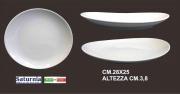 Saturnia T01001064 Piatto Tivoli Bistecca cm 27.5 Bianco