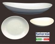 Saturnia T017202 Piatto Gondola Tivoli cm 21 Bianco