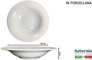 Saturnia T04001516 Piatto Napoli Pasta B-Bowl cm 30 Top