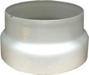 Save Fumisteria EB13F12M Riduzione Canna Fumaria in Acciaio smaltata colore Bianco 1312