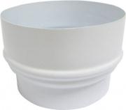 Save Fumisteria EB8F10M Aumento Smaltato colore Bianco 810
