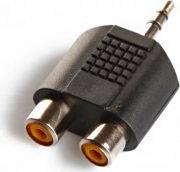 Sbs Adattatore Sdoppiatore da Jack 3,5mm a 2 prese RCA CO9A10400