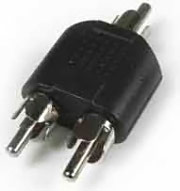 Sbs Adattatore Sdoppiatore Audio MaschioMaschio RCA2 x RCA HLA1080