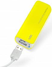 Sbs TEBB2200Y Batteria Portatile Esterna Supplementare smartphone 2200mAh USB