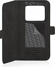 "Sbs Custodia cover universale libro smartphone 4.5"" Book Case 45 TEBOOKUN45K"