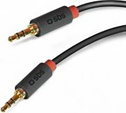 Sbs Cavo Audio MaschioMaschio Jack 3,5 mm TECABLE35KR