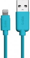 Sbs TECABLEUSBIP5A Cavo USB Lightning dati e ricarica per dispositivi Apple Blu