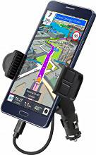 Sbs TESUPPUNICHARG Supporto Auto Universale Smartphone 5,5 Accendisigari