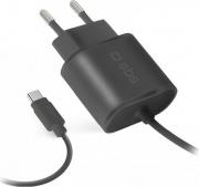 Sbs TETRTC2AFAST Caricabatteria USB-C Caricabatterie da viaggio 2100 mAh Type C