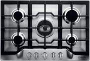 Scholtes TG 751 (IX) GH (EU) Piano cottura 5 fuochi 75 cm a Gas Griglie in Ghisa