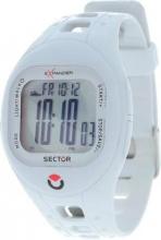 Sector R3251274115 Orologio Uomo Digitale Acciaio Cinturino Silicone Bianco