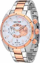 Sector Orologio Uomo Cronografo cassa e Cinturino Acciaio Oro R3273794001 C