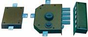 Securystar SEG151.121000SA Serratura per Porte in legno 5 Chiusure No Aste 60 mm SX SEG151