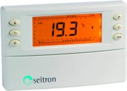 Seitron TCW01B0001SE Cronotermostato Digitale Settimanale Termostato  Magic Time