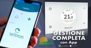 Seitron WI-TIME WHITE Cronotermostato Wi-Time. Controllabile Da App Smartphone