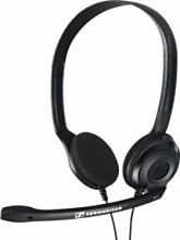 Sennheiser 504195 Cuffie Microfono PC ad Archetto Jack 2 x 3.5 mm  PC 3 Chat