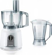 Severin Robot da Cucina Impastatrice 1,5Lt 400W + Bicchiere Frullatore KM 3909