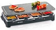 Severin Raclette Elettrica Barbecue da Tavolo 1 Piastra 8 padellini RG2343