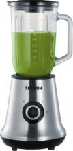 Severin SM 3737 Frullatore Elettrico Bicchiere in Vetro 1 Litro + Smoothie