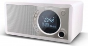 Sharp DR-450WH Radio Portatile Digitale DAB+ LCD Bluetooth Orologio Silver