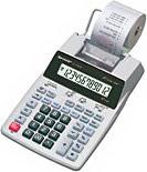 Sharp Calcolatrice Scrivente Stampa Stampante 12 Cifre a Batteria EL-1750PIIIGY