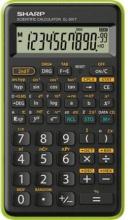 Sharp EL501TBGR Calcolatrice Scientifica 10 cifre Nero Verde