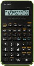 Sharp EL501XB VERDE Calcolatrice Scientifica