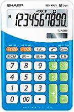Sharp Calcolatriceda Tavolo 10 Cifre. col. Blu EL332B