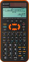 Sharp ELW506XB-YL Calcolatrice Scientifica 12 cifre BatteriaSolare Arancio - EL-W506XB