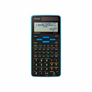 Sharp ELW531TGB Calcolatrice Scientifica 16 Cifre 4 Linee 422 funzioni Blu