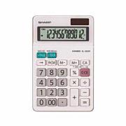 Sharp Calcolatrice da Tavolo display 12 cifre colore Bianco EL-320WB