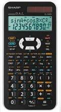 Sharp Calcolatricescientifica. Colore Bianco El506Xb  Wh