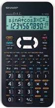Sharp Calcolatrice scientifica 12 cifre col. Bianco EL 509XXBWH