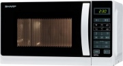 Sharp R-642 WW Forno Fornetto Microonde Combinato Grill 20Lt 800 W