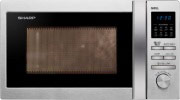 Sharp R-622STWE Forno Microonde Combinato Grill 20Lt 800W 8 Programmi Acciaio