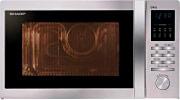 Sharp Forno a Microonde Combinato con Grill 25 Litri 900 Watt Inox R722STWE