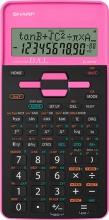 Sharp SH-EL531THBPK Calcolatrice Scientifica Tascabile 10 cifre Nero Rosa