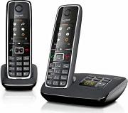 Siemens Telefono Cordless DECT GAP Vivavoce Segreteria Col Nero - C530A DUO