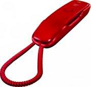 Siemens Telefono a filo con 10 memorie - DA210RED