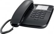 Siemens DA310 BLACK Telefono fisso a filo DA310 nero