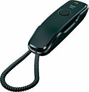 Siemens S30054-S6527-R101 Telefono con filo montabile a parete DA 210 NERO
