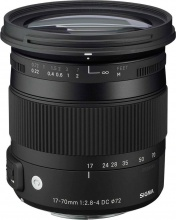 Sigma 884955 Obiettivo 17-70mm F2.8-4 DC Macro OS HSM (Nikon F (DX))