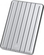 """Silicon Power SP010TBPHDA75S3S Hard disk esterno 1TB 2.5"""" USB Argento  Armor A75"""