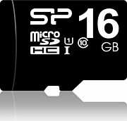 Silicon Power SP016GBSTH010V10SP Micro sd 16 GB Scheda MicroSDHC Classe 10