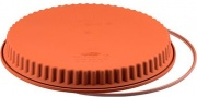 Silikomart 20426000065 Stampo Crostata con anello di supporto 26 cm Silicone