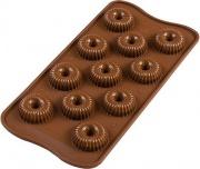 Silikomart 26149770065 Stampo Cioccolato Choco Crown Silicone