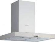 Silverline 3170 EC Cappa Cucina 90 Aspirante a Parete Profondità 50 cm Inox