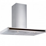 Silverline 3173.6 Cappa Cucina 60 Aspirante a Parete Profondità 50 cm Inox