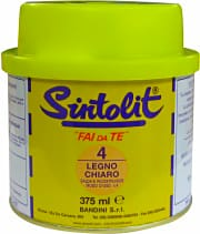 Sintolit 304 Stucco Legno ideale per Filettature spanate 375 ml colore Scuro